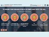 TrainingBriefs® The ADA - Maintaining Compliance