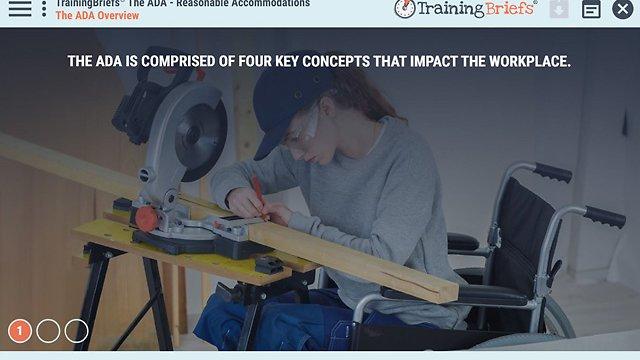 TrainingBriefs™ The ADA - Reasonable Accommodations