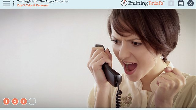 TrainingBriefs™ The Angry Customer