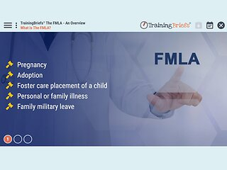 TrainingBriefs® The FMLA - An Overview