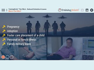 TrainingBriefs™ The FMLA - Reduced Schedules & Leaves