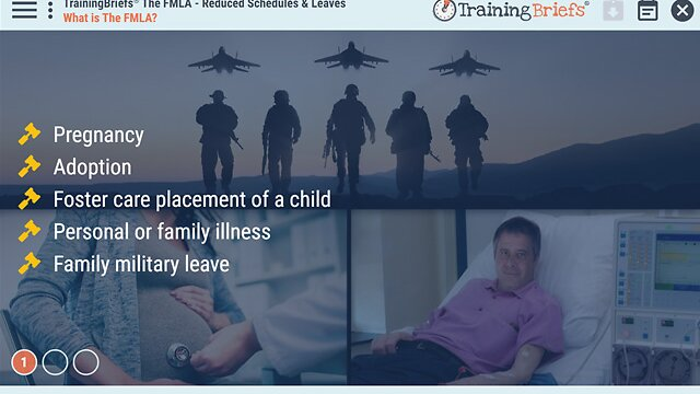 TrainingBriefs® The FMLA - Reduced Schedules & Leaves