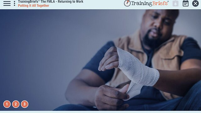 TrainingBriefs® The FMLA – Returning to Work