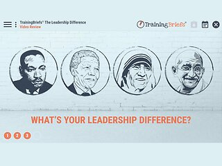 TrainingBriefs® The Leadership Difference