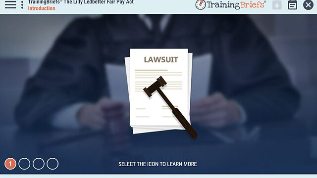 TrainingBriefs® The Lilly Ledbetter Fair Pay Act