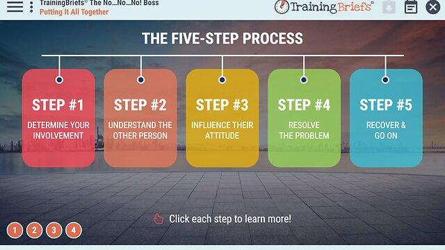 TrainingBriefs® The No…No…No! Boss