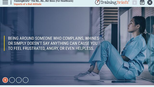 TrainingBriefs™ The No…No…No! Boss (For Healthcare)