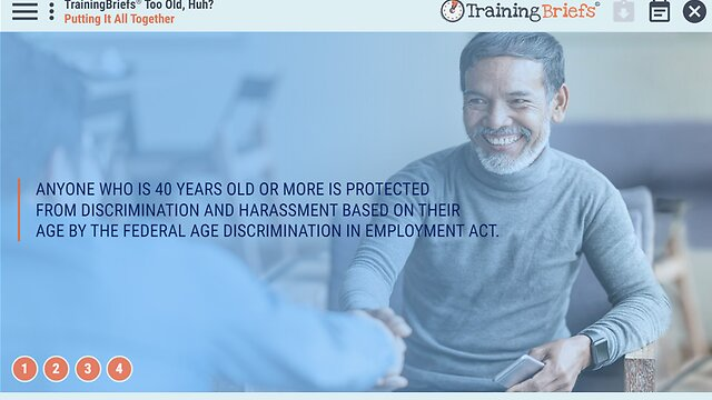 TrainingBriefs® Too Old, Huh?