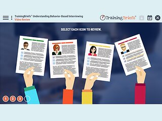 TrainingBriefs® Understanding Behavior-Based Interviewing