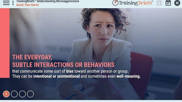 TrainingBriefs® Understanding Microaggressions