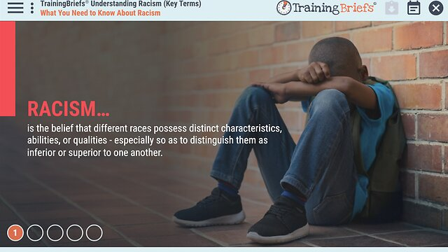 TrainingBriefs® Understanding Racism (Key Terms)