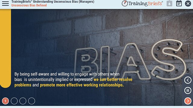 TrainingBriefs® Understanding Unconscious Bias (Managers)