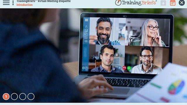 TrainingBriefs® Virtual Meeting Etiquette