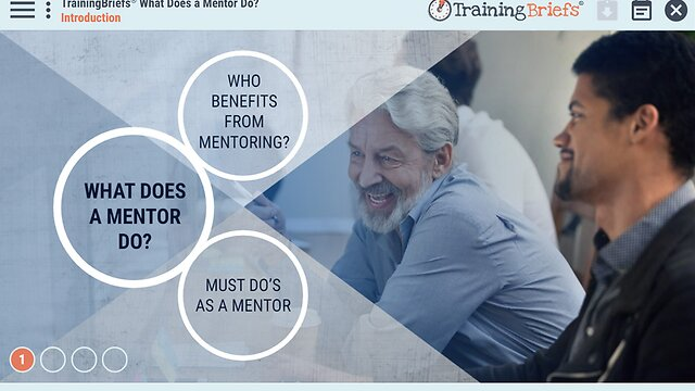 TrainingBriefs™ What Does a Mentor Do?