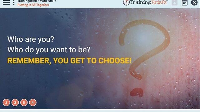 TrainingBriefs® Who Am I?