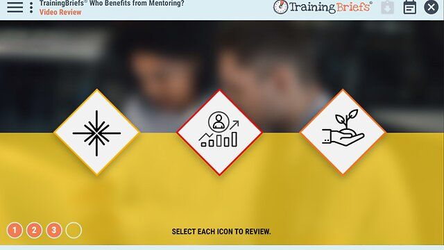 TrainingBriefs™ Who Benefits from Mentoring?