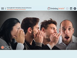 TrainingBriefs® Workplace Gossip & Rumors