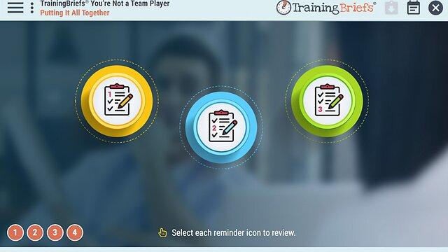 TrainingBriefs® You're Not a Team Player