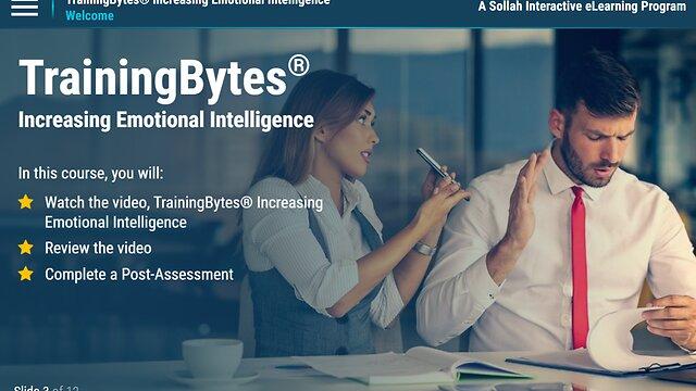 TrainingBytes® Increasing Emotional Intelligence (eLearning)