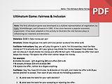Ultimatum Game: Understanding Fairness & Inclusion