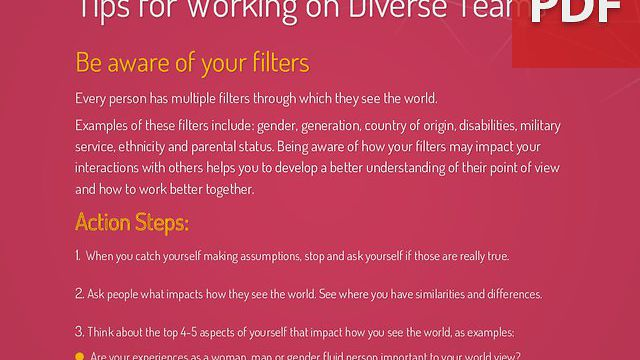 Understanding Filters – Workplace Mini Poster