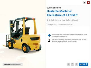 Unstable Machine The Nature of a Forklift™ - Safety Classic