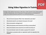 Using Video Vignettes in Training