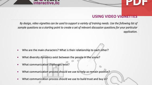 Using Video Vignettes in Training - A Primer