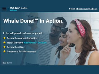Whale Done!™ in Action (eLearning Classic)