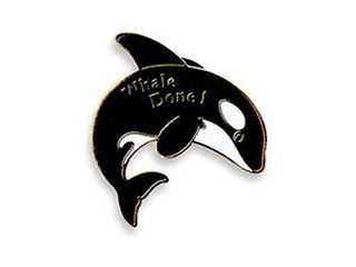 Whale Done! - Lapel Pins (10 pack)