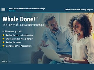 Whale Done!™: The Power of Positive Relationships