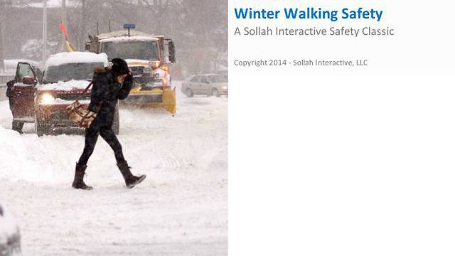 Winter Walking Safety™